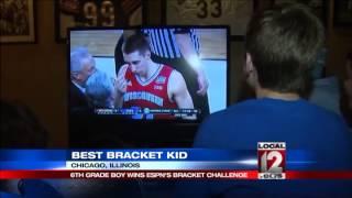 6th grader tops nation in ESPN bracket challenge