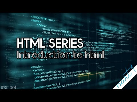 What Is HTML? | Introduction To HTML | HTML Tutorial In Tamil | Mr.SciBot