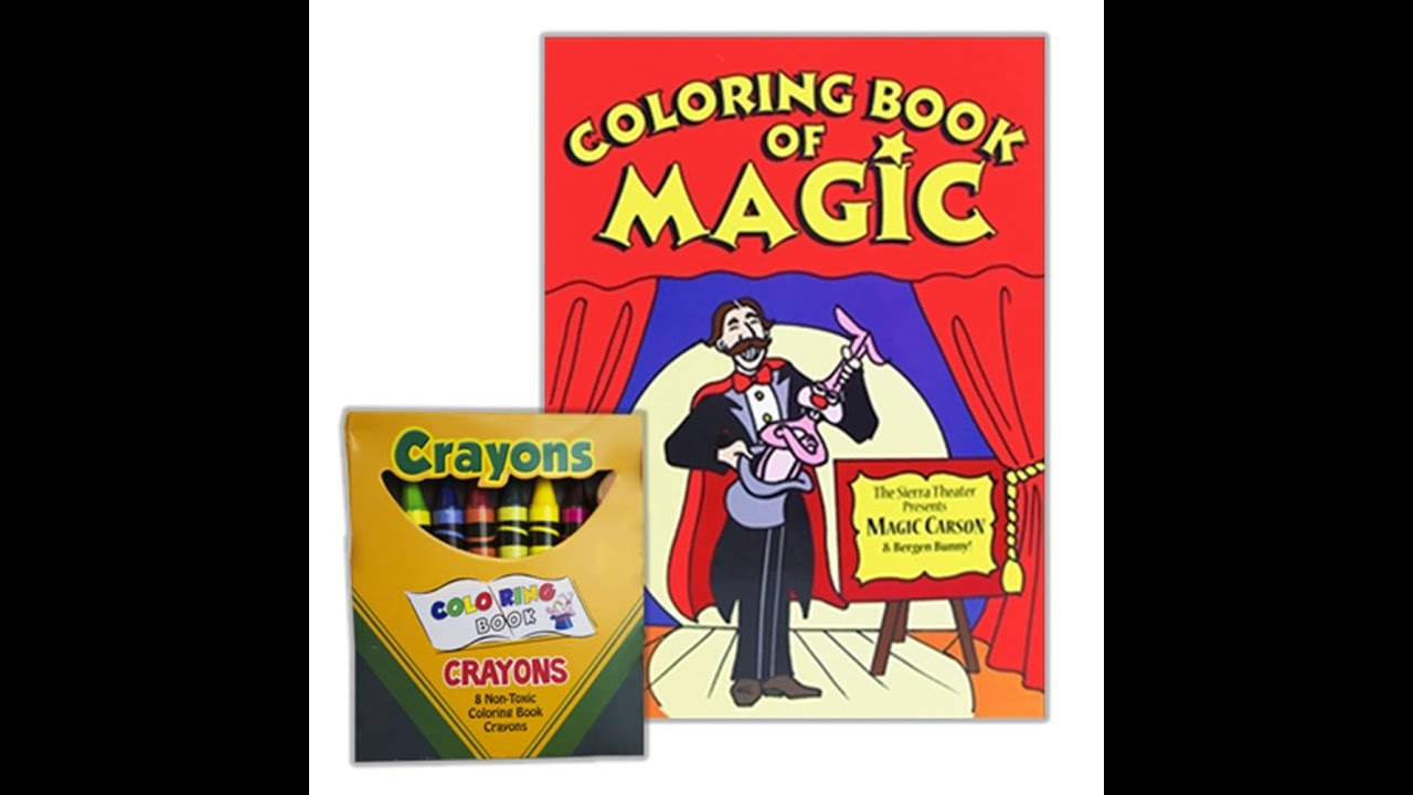 Awesome True Colors Book Thick For Colored Girls Book Clean Color Me Coloring Book 3d Coloring Book Old Cheap Coloring Books DarkSonic The Hedgehog Coloring Book Colouring Book Magic Makers Trick Gospel Magic Crayons   YouTube