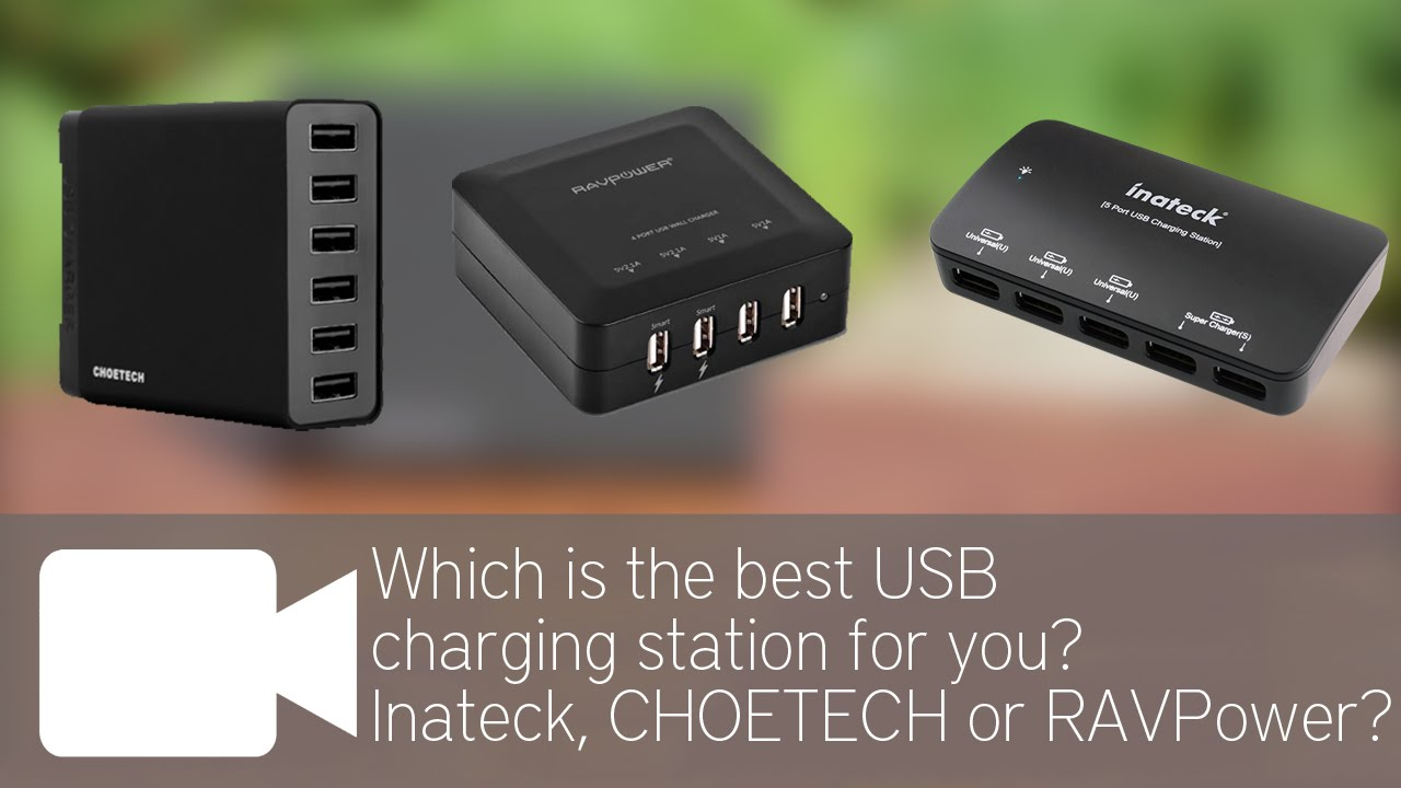 Which Is The Best Usb Charging Station For You Inateck