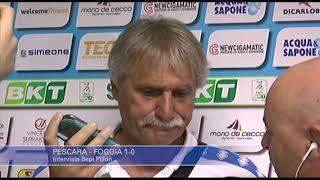 Pescara - Foggia 1-0: Bepi Pillon