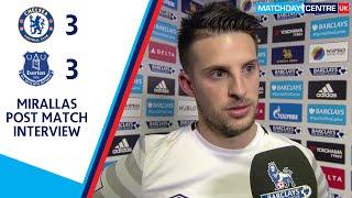 Chelsea 3-3 Everton : Kevin Mirallas Interview