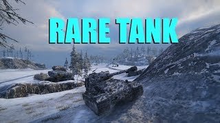 WOT - A Very Rare Tank | World of Tanks