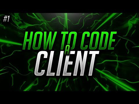 #1 - How to make your own Minecraft hacked client! | *Optifine* 1.12.2