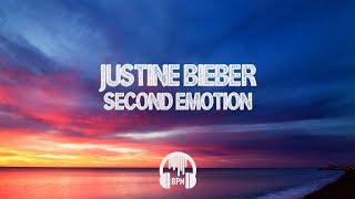 Justin Bieber - Second Emotion (feat. Travis Scott) (8d)