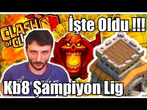 Şampiyon Lige Çıktım !!! Köy Binası 8 !!!