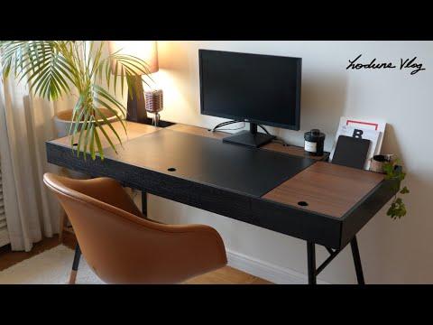 SUB) 홈 오피스, 심플하게 나만의 책상 꾸미기 & 정리하기ㅣMy Simple Home Office Tour