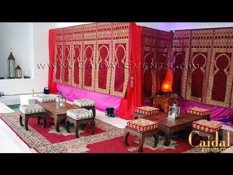 Backyard Moroccan Theme Party Tent Furnishing Amp Decor