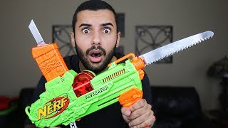 MOST DANGEROUS NERF MOD OF ALL TIME!!! (EXTREME REV REAPER NERF MOD!!)
