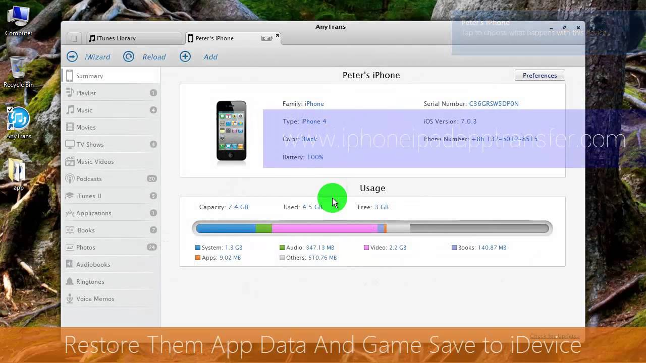 how to save data on iphone backup iphone app data and save to computer and 19048