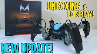 UNBOXING & LETS PLAY! MekaMon Berserker Robot + NEW MekaMotion Update!