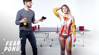 Fear Pong Blind Date (Hannah & Jared) | Fear Pong | Cut