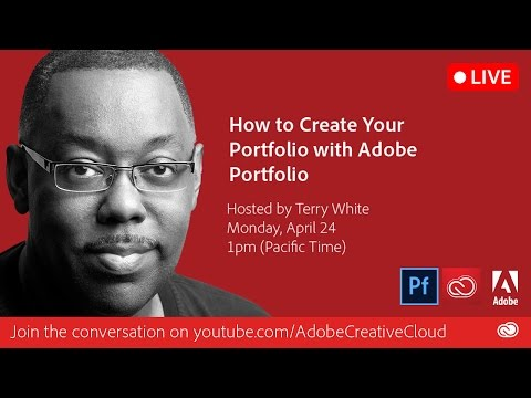 How To Build Your Online Portfolio In Adobe Portfolio | Adobe Creative Cloud