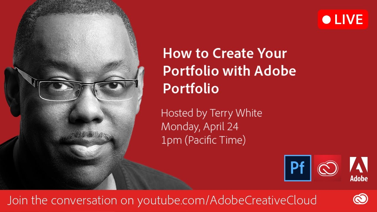 how to create your online portfolio with adobe portfolio youtube rh youtube com