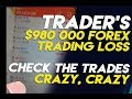 Crazy Forex losses - FOREX TRADER CAUGHT IN $990 000 forex trading loss - forex account blown