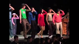 "A Chorus Line,Hopewell Valley HS NJ Act 2 Andres Moledo ""Paul"" HD"