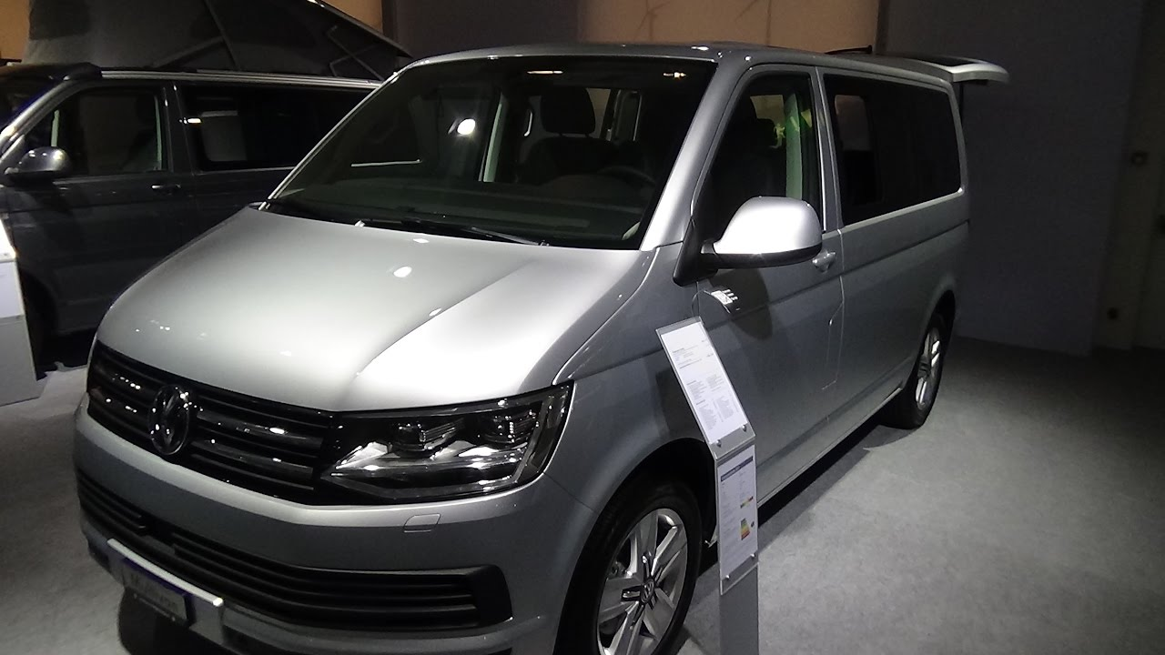 2017 Volkswagen T6 Multivan Family Exterior And Interior Zürich Car Show 2016 You