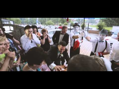 Самая лучшая свадьба | Фиалковские | 03.07.15 | Свадьба под дождем