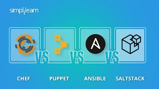 Chef vs Puppet vs Ansible vs Saltstack | Configuration Management Tools | DevOps Tools | Simplilearn