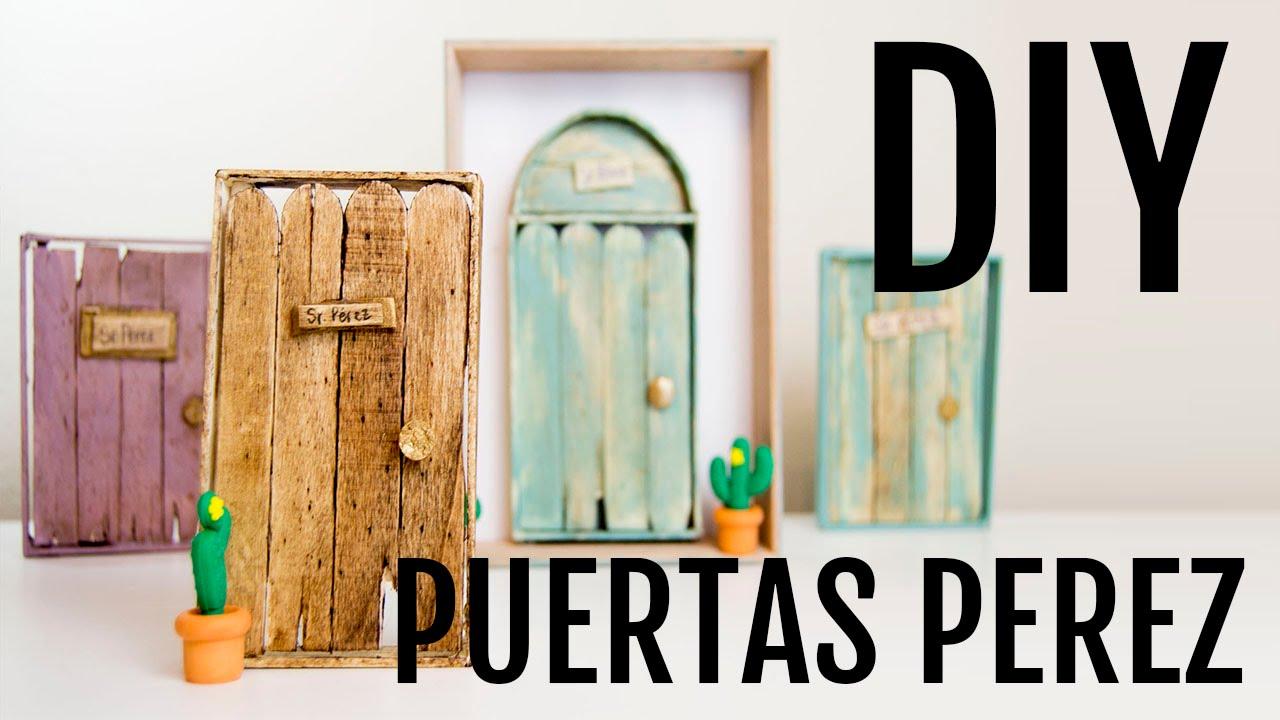Tutorial puertas ratoncito p rez youtube for Puertas ratoncito perez baratas