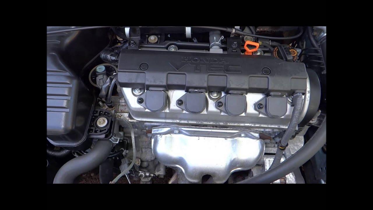 2004 HONDA CIVIC 1.6 ENGINE - D16V1 - 42,543 - YouTube