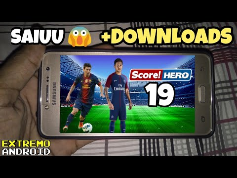 ATÉ QUE FIM !! SCORE HERO 2019 CONFERINDO O GAME OFICIAL 90MB ANDROID DOWNLOAD - 동영상