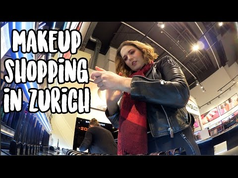 MAKEUP SHOPPING IN ZURICH | VLOG
