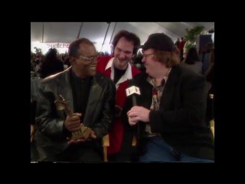 Michael Moore Interviews Quentin Tarantino & Samuel L. Jackson (1994)
