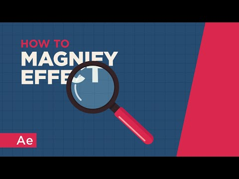 Magnify Effect - After Effects Tutorial