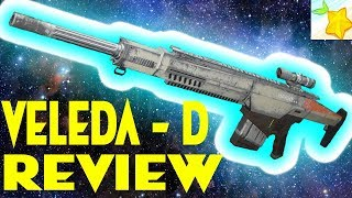 Destiny 2 VELEDA D sniper review Love these high impact snipers