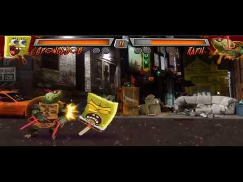 Спанч Боб игры Уличные драки