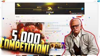 5,000 SUBSCRIBER COMPETITION!!