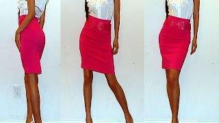 видео С чем носить красную юбку карандаш