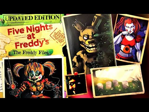 A Look At The UPDATED EDITION Of THE FREDDY FILES...