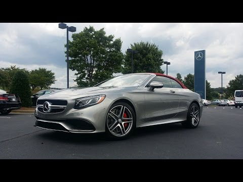 2017 Mercedes Benz S-Class Cabriolet (Mercedes-AMG S63 Edition 130) Tech Review