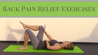 Back Pain Relief Exercises - Home Workout for Back Strengthening thumbnail