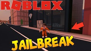 ROBLOX-HOW to STEAL the JEWELRY WITHOUT ENTERING!! (JAILBREAK!)