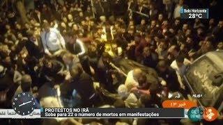 Protestos contra o governo no Irã já somam 22 mortos e mil detidos | SBT Brasil (02/01/18)