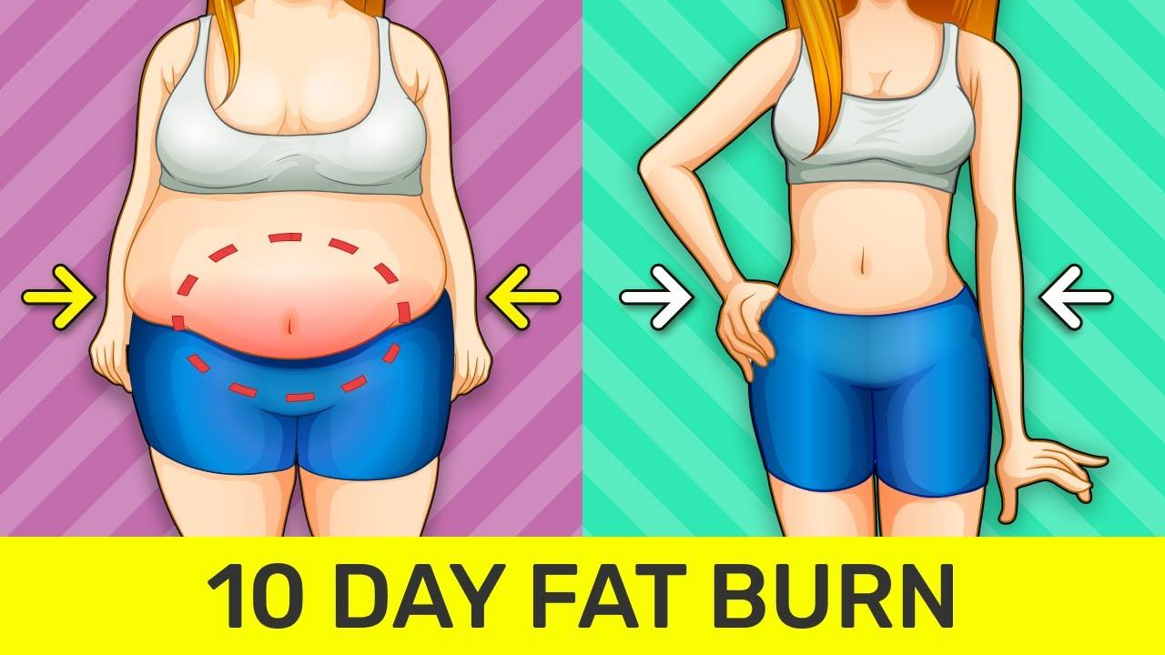 10 Day Weight Loss Challenge - Burn Fat, Get Slim
