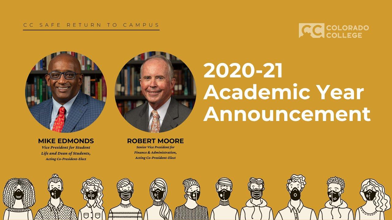 2020-21 Academic Year Announcement