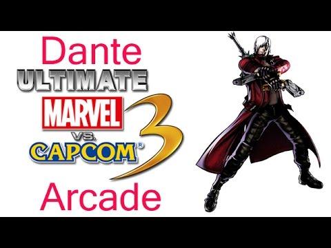 Ultimate Marvel VS Capcom 3 Arcade - Dante {& The Devil May Cry Team}