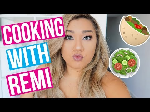 COOKING WITH REMI!! Healthy Meal Prep!
