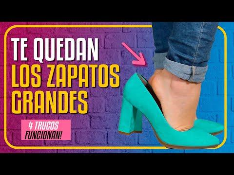 ca4a0f54 ZAPATOS GRANDES cómo REDUCIR ✅ SOLUCIÓN ✅ 4 TRUCOS si me QUEDAN GRANDES los  zapatos RÁPIDOS - YouTube