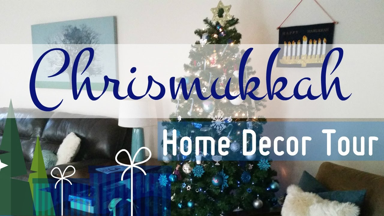 Christmas Hanukkah Home Decor Tour Minimal