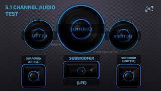 5.1 Channel Audio Test