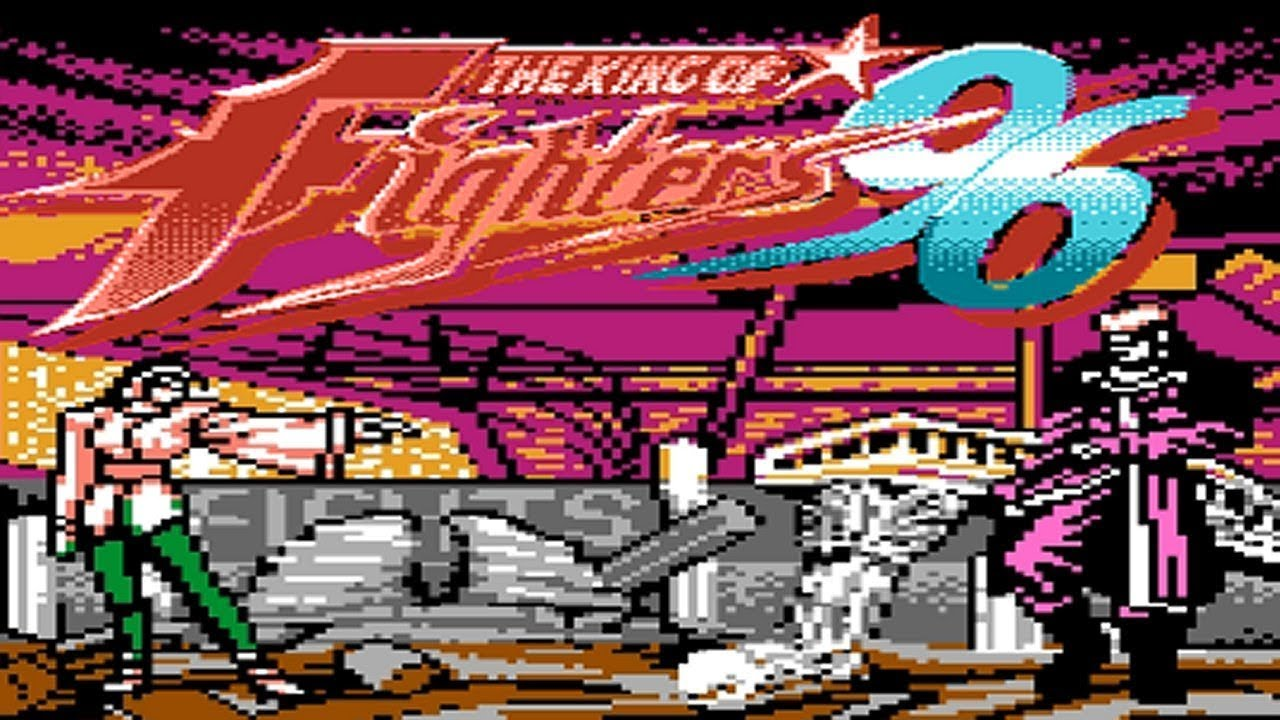 The King Of Fighters 96 Unl Famicom Pirate Nes Longplay