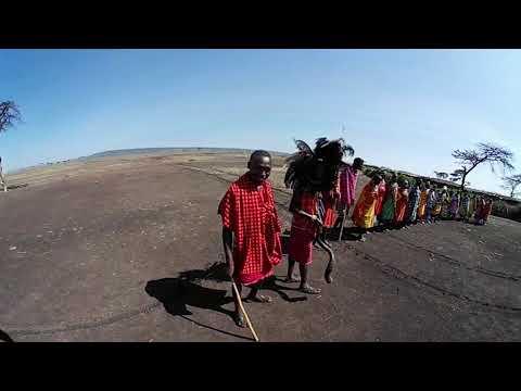 Maasai manyatta part 1 - somewhere in the Mara