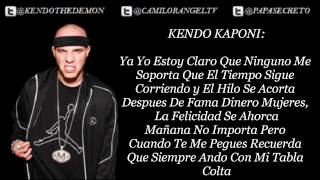 MI TABLA COLTA (CON LETRA) - KENDO KAPONI FT SECRETO