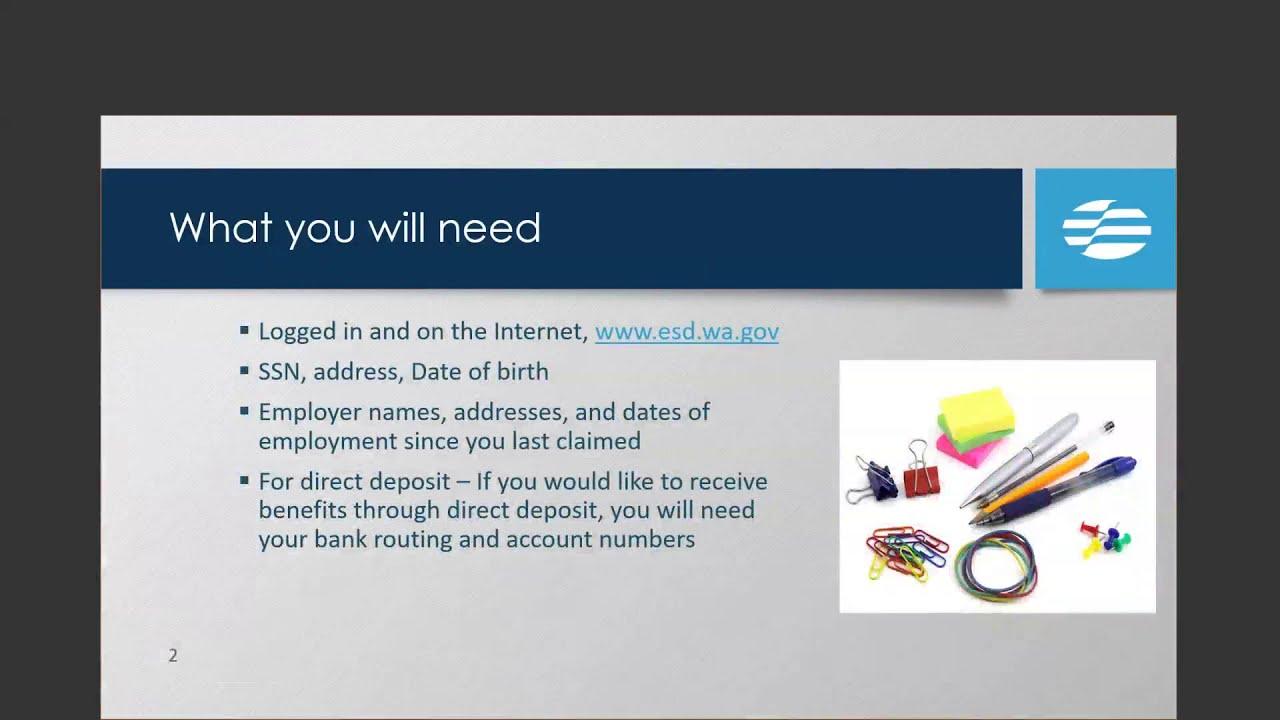 Download Restarting an Unemployment Claim