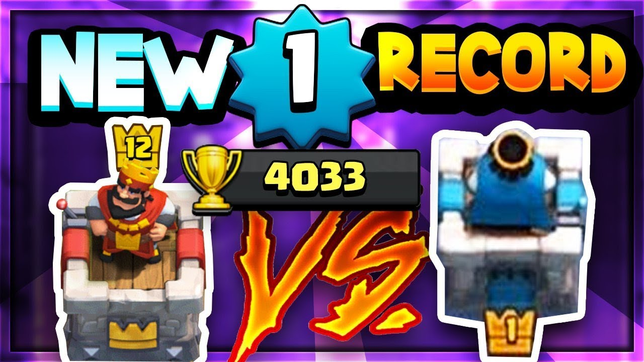 INSANE! NEW Lvl 1 WORLD RECORD! 4033 TROPHIES!